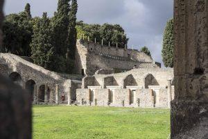 Grande palestre à Pompéi
