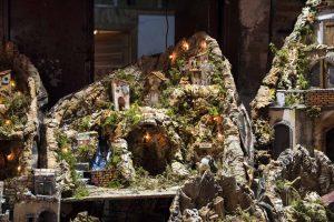 Santons via San Gregorio Armeno à Naples