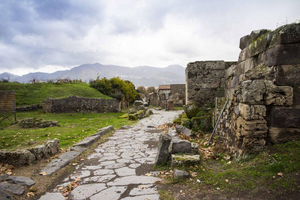 Visite de Pompéi