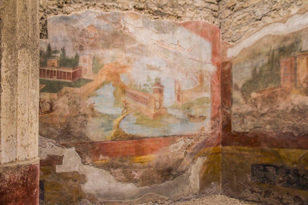 Visite du site de Pompéi