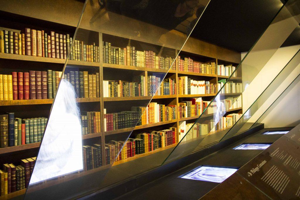Salle des historiens de l'Historia Jeanne d'Arc