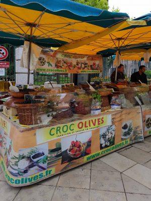 Olives du marché de Cassis