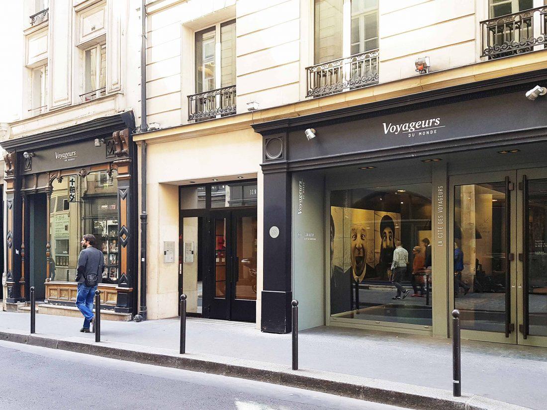 Boutique Voyageurs du Monde à Paris