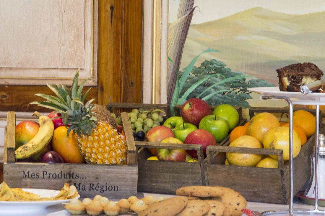 Buffet petit-déjeuner Georges Blanc