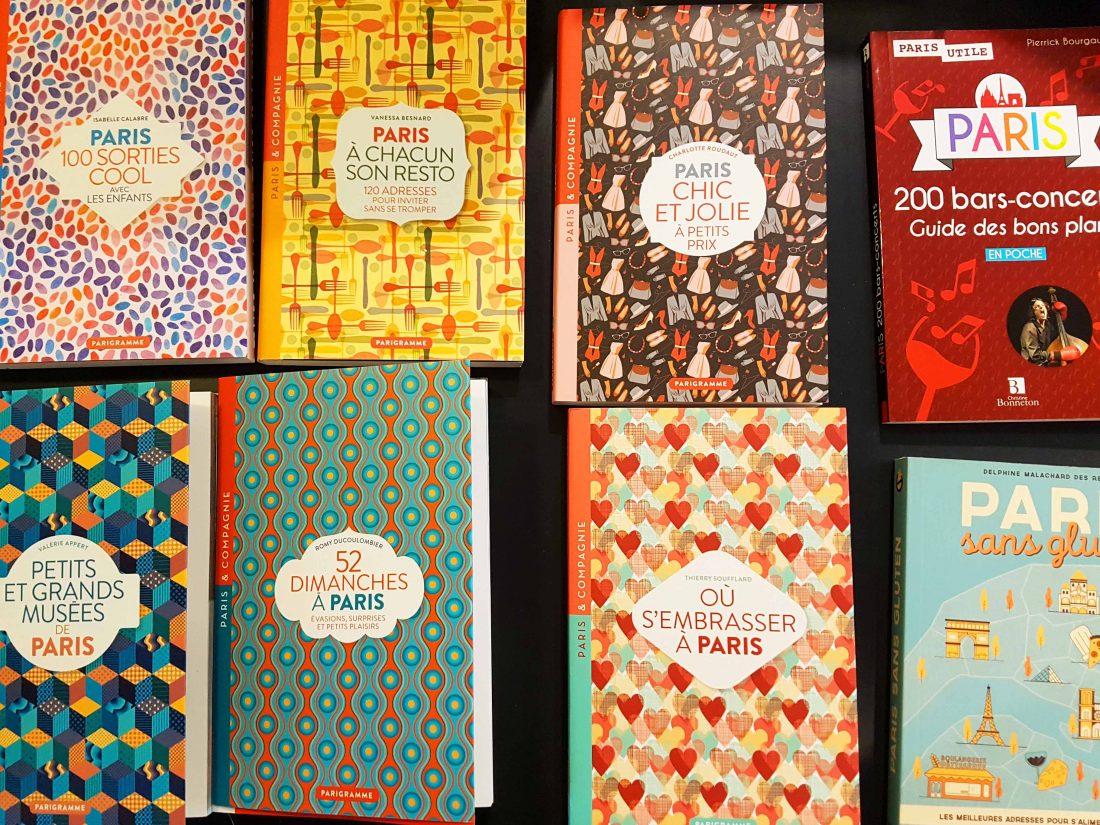 Guides de Paris de la librairie Voyageurs du Monde