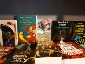 Littérature à la librairie Voyageurs du Monde