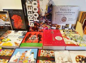 Livres Gastronomie de la librairie Voyageurs du Monde