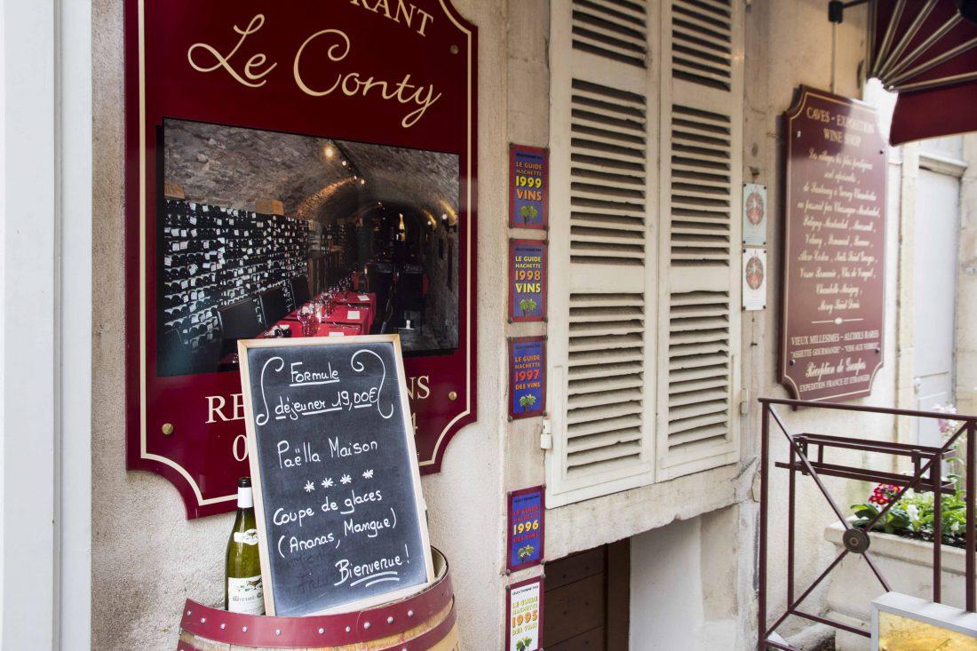 Restaurant Le Conty à Beaune