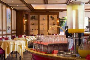 Salle du petit déjeuner Georges Blanc