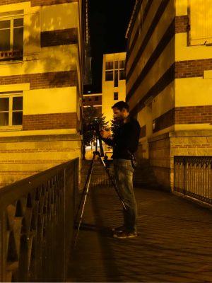 Photographie de nuit avec trépied